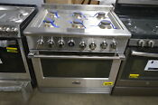 Dcs Rgv2366l 36 Stainless Professional Lp Gas Oven Range 28538 Mad