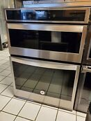 Whirlpool 30 Self Cleaning Convection Microwave Wall Oven Combo Stainless Steel