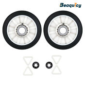 349241t Dryer Rear Drum Support Roller Kit Fit For Whirlpool Dryer By Beaquicy