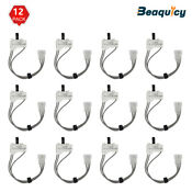 3406105 Dryer Door Switch Assembly For Whirlpool Ap2976041 By Beaquicy 12 Pack