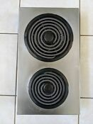 Jenn Air Electric Coil Cooktop Model Ac110 Stainless 1