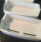 Two 7 Deep White Door Bins For Lg Side By Side Refrigerator Model Lsc23924sw