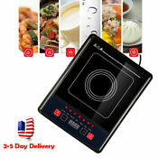 Portable Digital 2000w Electric Induction Cooktop Cooker Countertop Burner Ce
