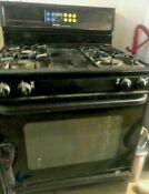 Frigidaire Black Kitchen Range Stove Gas