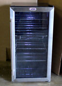 Whynter 117 Can Beverage Cooler Refrigerator Stainless Steel Glass Door Br 125sd