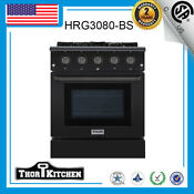 30 Gas Range 4 Burner With Built In Single Oven And Griddle 4 Burner Cooker Oven