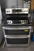Ge Jb860sjss 30 Stainless Double Oven Electric Range Nob 90267 Hrt