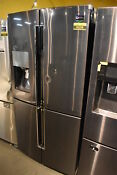 Samsung Rf23j9011sg 36 Black Stainless French Door Refrigerator Nob 36208 Hrt