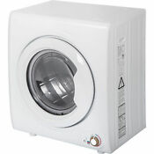 2 65 Cu Ft Compact Laundry Dryer 9 Lbs Capacity Compact Tumble Wall Mounted Us