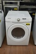 Samsung Dve45t6000w 27 White Front Load Electric Dryer Nob 93898 Hrt