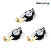 3977767 Dryer Thermostat Fit For Whirlpool Kenmore Maytag Dryer 3pack