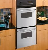 Ge Jtd300enes 24 Stainless Double Wall Oven Nib 94726 Hrt