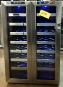 Whynter 32 Bottle Dual Zone Freestanding Wine Cooler Wc 321dd Wc106