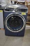 Ge Gfw850spnrs 28 Royal Sapphire Front Load Washer Nob 102225