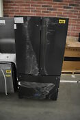 Kitchenaid Krff305ebs 36 Black Stainless French Door Refrigerator Nob 38184 Mad