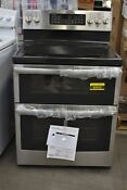Ge Jb860sjss 30 Stainless Double Oven Electric Range Nob 60932