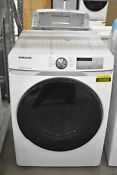 Samsung Dve45r6100w 27 White Front Load Electric Dryer Nob 102563