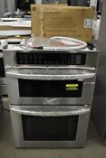 Lg Lwc3063st 30 Stainless Microwave Oven Combo Wall Oven Nob 102985