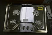 Whirlpool Wcg55us0hs 30 Stainless Natural Gas Cooktop Nob 103347