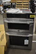 Lg Lswc307st 30 Stainless Microwave Oven Combo Wall Oven Nob 103873