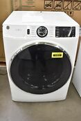 Ge Gfd65essnww 28 White Front Load Electric Dryer Nob 103923