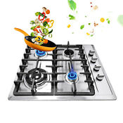 58 50cm 4 Burners Stove Stainless Steel Built In Natural Gas Cooktop Home