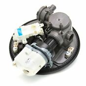 Whirlpool Wpw10482502 Dishwasher Pump And Motor Assembly Genuine Oem Part