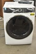Ge Gfd85essnww 28 White Front Load Electric Dryer Nob 105049