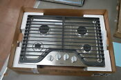 Whirlpool Wcg51us0ds 30 Stainless 4 Burner Gas Cooktop Nob 28427 Mad