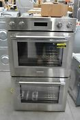 Thermador Pod302w 30 Stainless Steel Double Wall Oven Nob 111479