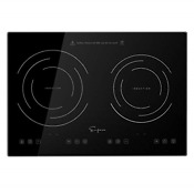 Empava Idc12b2 Horizontal Electric Stove Induction Cooktop With 2 Burners In 12