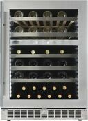 Danby Silhouette 24 Built In Dual Zone Stainless Wine Cooler Sprwc053d1ss 509