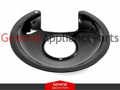 Whirlpool Stove Range Cooktop 6 Black Burner Drip Pan Bowl 868490 866340 834683