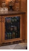 Perlick 24 Ss Outdoor Fully Integrated Glass Door Refrigerator Hp24ro 3 4l
