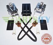 New 8004683 Ge Stove Heating Element Surface Burner Receptacle Kit