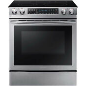 Samsung Stainless Steel Convection 30 Electric Slide In Range Ne58k9430ss
