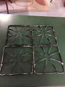 Vintage Stove Parts Gaffers Sattler 50 S Gas Range Burner Grate Lot Parts