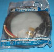 New Jmf Dryer Universal Power Cord 4 Wire 30 Amp 6 Free Shipping