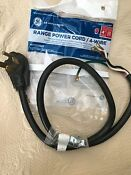 Ge Range Power Cord Wx09x10035 4 Ft 4 Prong 40 Amp Electric Stove