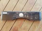 Kenmore Whirlpool Maytag Dryer Control Panel Black W10117393 Wpw10117393