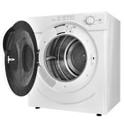 27 Lbs 3 21 Cu Ft Home Electric Tumble Compact Clothes Dryer White 110v Us