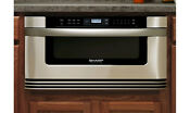 Sharp Kb6524ps 24 Built In Microwave Drawer 1 2 Cu Ft Capacity