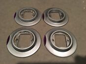 5 Fisher Paykel Dcs Gas Cooktop Bezels W Indicator Assembly Include 1 Knob