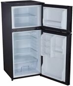 Magic Chef 4 3 Cu Mini Compact Fridge Black Dorm Office Small Freezer Cooler New