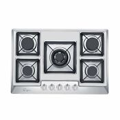 Empava 30 Stainless Steel 5 Italy Sabaf Burners Stove Top Gas Cooktop Empv 30gc