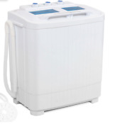 Portable Washer Dryer Washing Machine Combo Twin Tub Spin Dry Rv Apt Laundry New