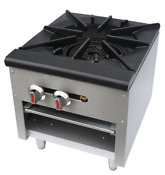 Hakka Stock Pot Stove With Stainless Steel Construction 110 000 Btu Burner