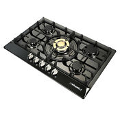 30 Luxurious Titanium Stainless Steel Burner Built In 5stove Natual Gas Cooktop