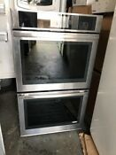 Jenn Air 30 Euro Style Stainless Steel Double Wall Oven Model Jjw3830ds