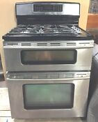 Jenn Air Dual Fuel Range Stove Dual Ovens 1 Convection
